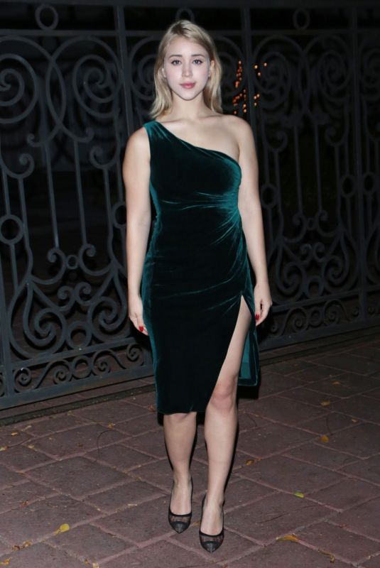 CAYLEE COWAN Night Out in Los Angeles 04/25/2021