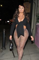CHANELLE MCCLEARY Night Out in Manchester 04/19/2021