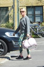 CHARLIE BROOKS Leaves a Gym in Surbiton 04/23/2021