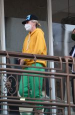 CHARLIZE THERON Leaves a Sushi Restaurant in Los Angeles 04/20/2021