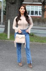CHLOE BROCKETT on the Set of  The Only Way is Essex 04/11/2021