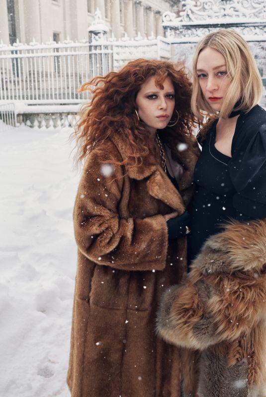 CHLOE SEVIGNY and NATASHA LYONNE in The New York Times Style Magazine, April 2021