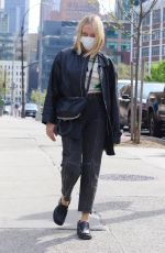 CHLOE SEVIGNY Out and About in New York 04/24/2021