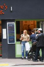 CHLOE SEVIGNY Out Shopping in New York 04/19/2021