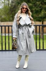 CHLOE SIMS on the Set of The Only Way is Essex 04/13/2021