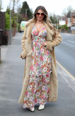 CHLOE SIMS on the Set of The Only Way is Essex 04/29/2021