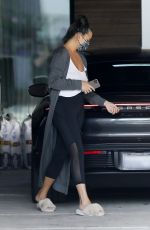 CHRISSY TEIGEN Heading to a Meeting in Los Angeles 04/02/2021