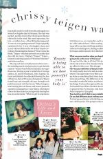 CHRISSY TEIGEN in People Magazine, Beautiful Issue 2021, April 2021