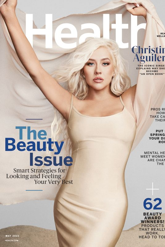CHRISTINA AGUILERA for Health Magazine, May 2021