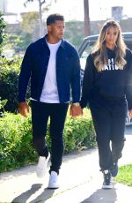 CIARA and Russell Wilson on the Set of Roll Up Your Sleeves 04/17/221