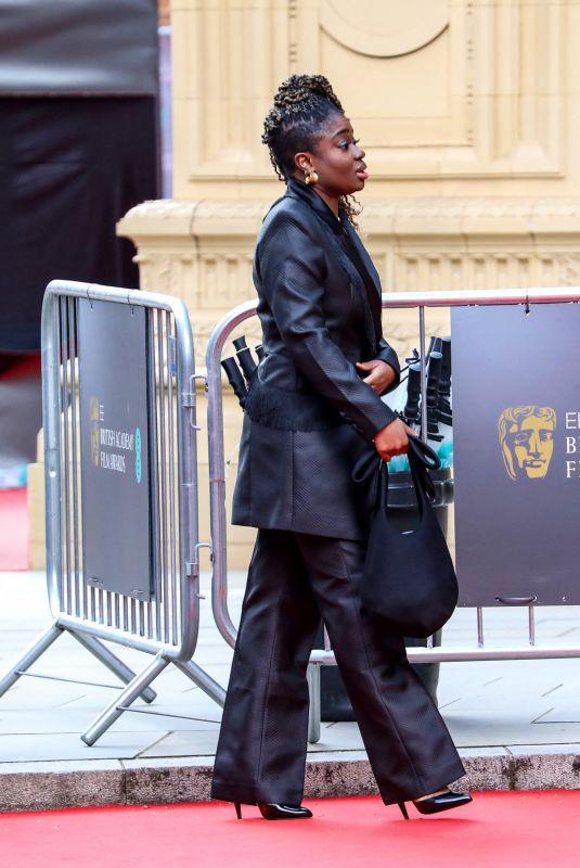 CLARA AMFO Arrives at 2021 British Academy Film Awards 04/11/2021