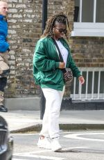 CLARA AMFO Out in London 04/01/2021