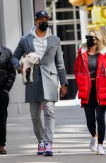 CLARE CRAWLEY Out for Her Dog in New York 03/30/2021