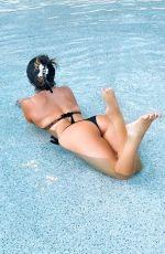 CLAUDIA ROMANI in Bikini at Pool in Seminole Hard Rock Hotel in Hollywood 04/22/2021