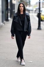 CLELIA THEODOROU on the Set of The Only Way is Essex 04/11/2021