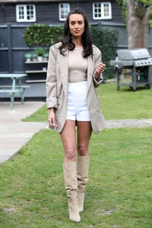 CLELIA THEODOROU on the Set of The Only Way is Essex 04/29/2021