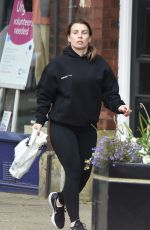 COLEEN ROONEY Out Shopping in Alderley Edge 04/28/2021