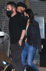 COURTENEY COX Out for Dinner at Nobu Restaurant in Malibu 04/06/2021