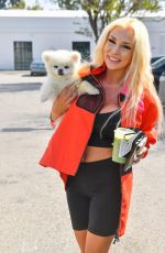 COURTNEY STODDEN Out and About in Palm Springs 04/15/2021
