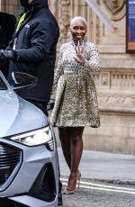 CYNTHIA ERIVO Arrives at 2021 British Academy Film Awards 04/11/2021