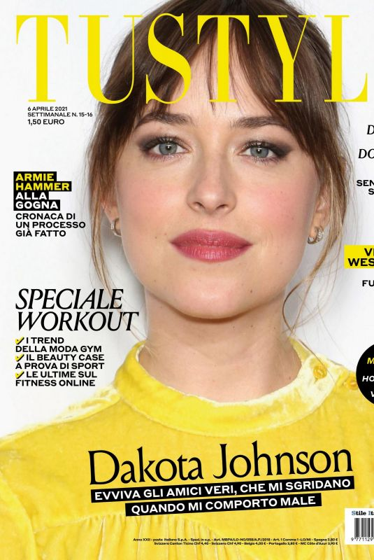 DAKOTA JOHNSON in Tustyle Magazine, April 2021