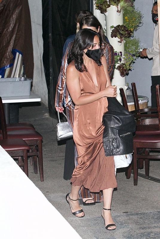 DANIELLE JONAS at Craig's in West Hollywood 04/27/2021