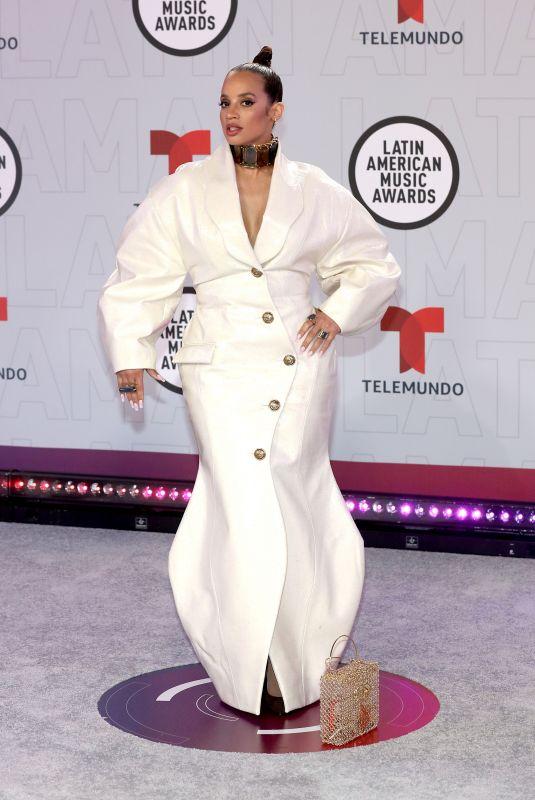 DASCHA POLANCO at 2021 Latin American Music Awards in Sunrise 04/15/2021