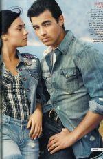 DEMI LOVATO and Jone Jonas in Teen Vogue Magazine, August 2010