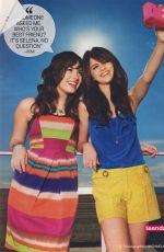 DEMI LOVATO and SELENA GOMEZ in People Magazine, Special Issue July 2009