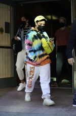 DEMI LOVATO Out and About in Beverly Hills 03/31/2021