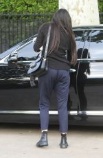 DEMI MOORE Leaves Pilates Class in Los Angeles 04/14/2021