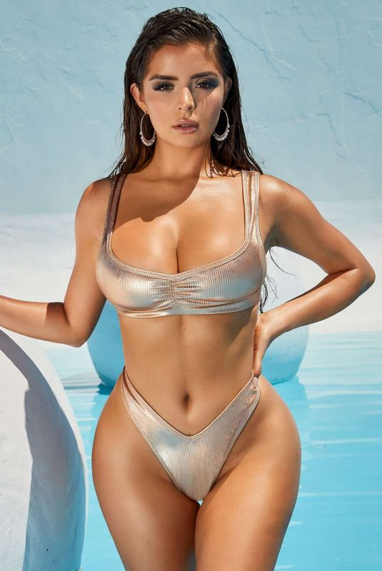 DEMI ROSE MAWBY for Oh Polly Beachware, March 2021