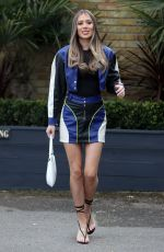 DEMI SIMS on the Set of The Only Way is Essex 04/11/2021