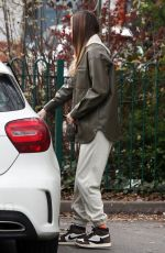 DEMI SIMS on TOWIE Set in Essex 04/18/2021