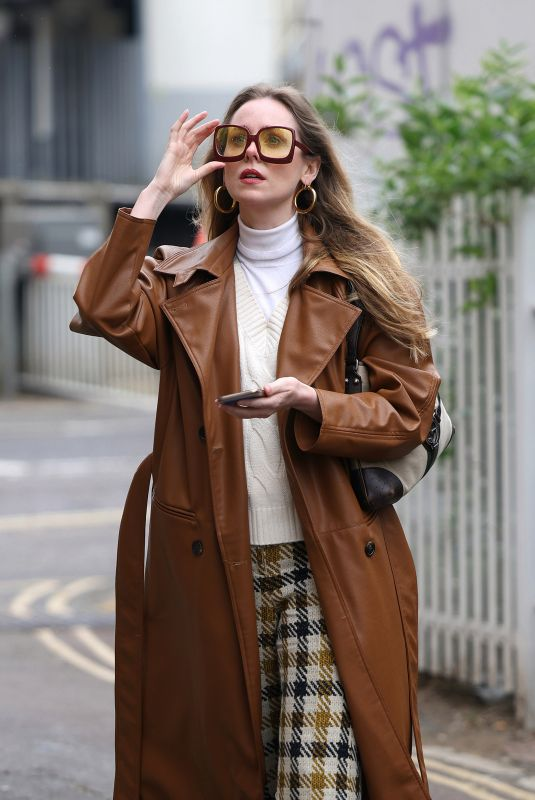 DIANA VICKERS Out and About in London 04/28/2021