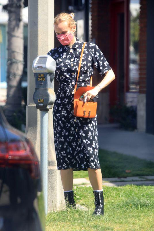 DIANE KRUGER Out in Los Angeles 04/08/2021