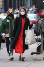 DIANNA AGRON Out Shopping in New York 04/19/2021