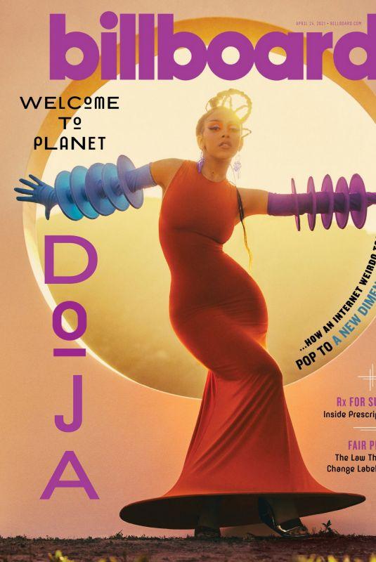 DOJA CAT in Billboard Magazine, April 2021