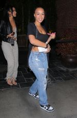 DRAYA MICHELE at Highlight Room in Hollywood 04/15/2021
