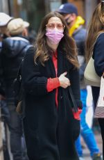 DREW BARRYMORE Out and About in New York 04/18/2021
