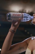 DUA LIPA for Evian Drink True Campaign 2021