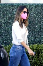 EIZA GONZALEZ in Tight Denim Out in West Hollywood 04/03/2021