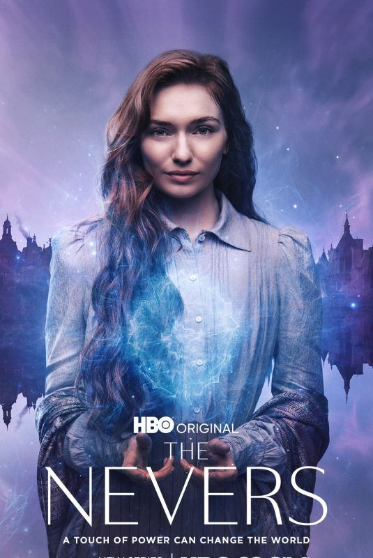 ELEANOR TOMLINSON – The Nevers, Poster and Promoshoot 2021