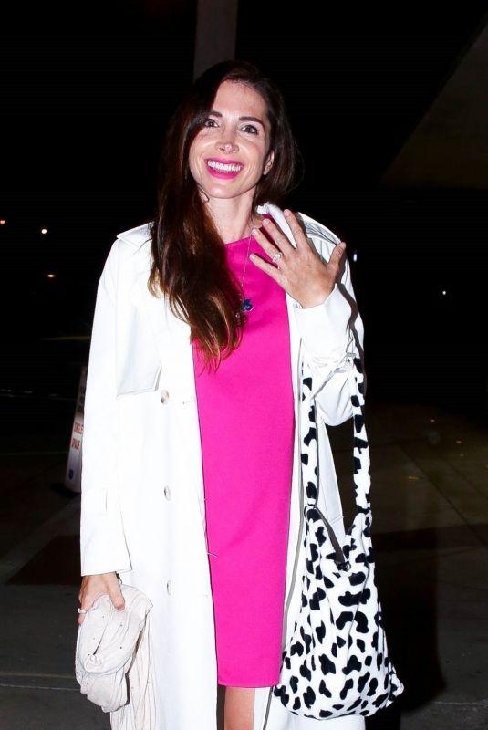 ELISA JORDANA Out for Dinner in Los Angeles 04/15/2021