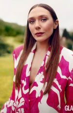 ELIZABETH OLSEN in Glamour Magazine, UK April 2021