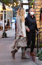 ELLEN DEGENERES and PORTIA DE ROSSI Out for Dinner in Montecito 04/11/2021