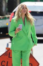 ELSA HOSK Out and About in Los Angeles 04/07/2021