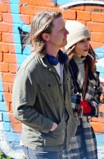 EMILIA CLARKE and Mike Noble Out at Regents Canal in London 04/05/2021