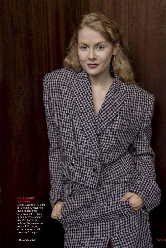 EMILY BEECHAM in Vanity Fair Magazine, Italy May 2021