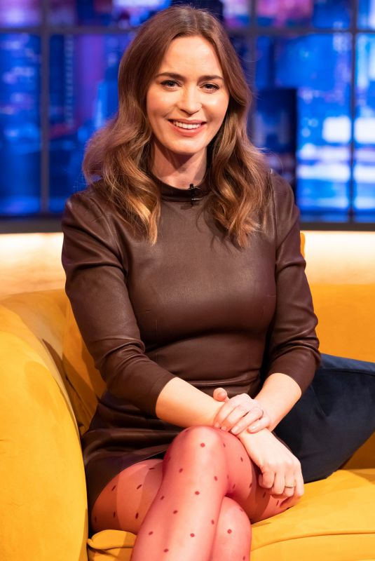 EMILY BLUNT at Jonathan Ross Show in London 04/17/2021
